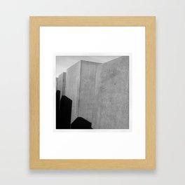 HOLOCAUST MEMORIAL Framed Art Print