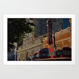 Tivoli Art Print