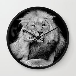 A Fathers Love Wall Clock