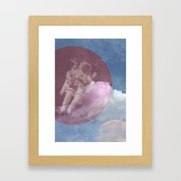 Astroman Framed Art Print