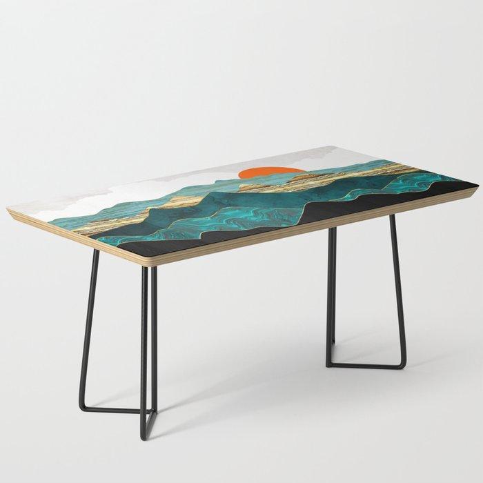 Turquoise Vista Coffee Table