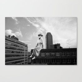 Bright Eyes on the Elevated Canvas Print