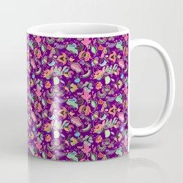 Batik Kebaya Purple SQ Coffee Mug