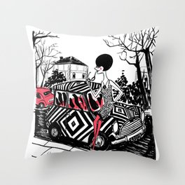 VINTAGE STYLE Throw Pillow