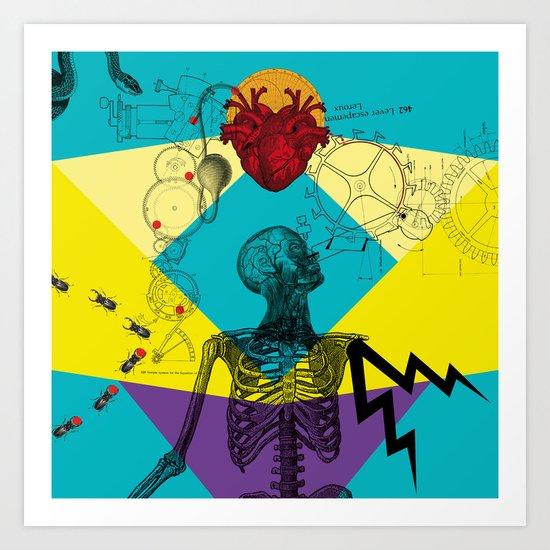 The Love machine Art Print