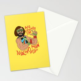 NO COUNTRY FOR MACHO MAN Stationery Cards