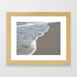 Beach Waves 1 Framed Art Print
