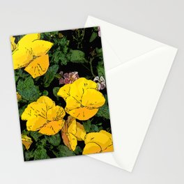 Mellow Yellow by Daniel MacGregor Stationery Cards