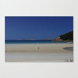 Norman Beach Canvas Print