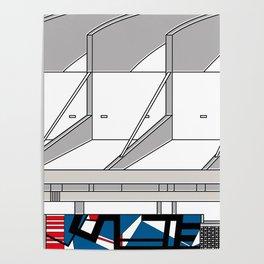 Aula Magna UCV -Detail- Poster