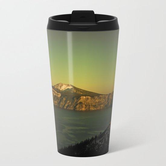 Man from Earth Metal Travel Mug