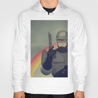 robocop Hoodies featuring RoboCop Love by Perry Misloski
