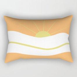 """ Orange days "" Rectangular Pillow"