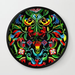 Eden Garden Wall Clock