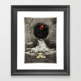 Stephen King's IT Framed Art Print