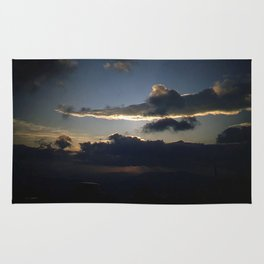 Sunset in the Appenines * Vintage Color Photo * Kodachrome * Italy Rug
