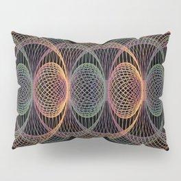 Elliptic Rotations, Day-glow Pop Poster Art Pillow Sham
