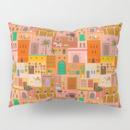 Marrakesh: The Red City Pillow Sham