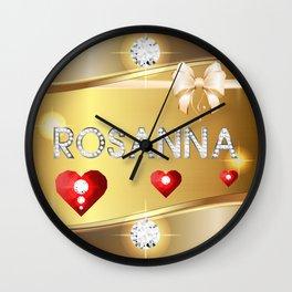 Rosanna 01 Wall Clock