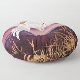 Elegant Flight III Floor Pillow