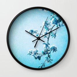 BLUE SPRING Wall Clock