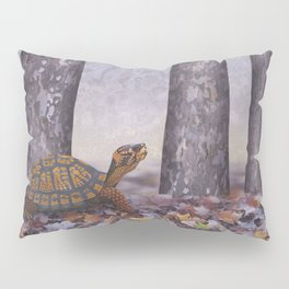 eastern box turtle in the forest Pillow Sham