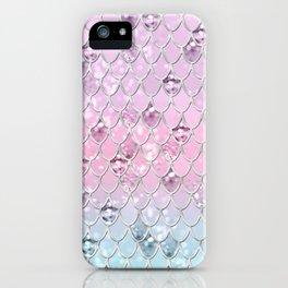 Mermaid Princess Glitter Scales #1 #shiny #pastel #decor #art #society6 iPhone Case