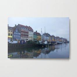Nyhavn Copenhagen 2 Metal Print