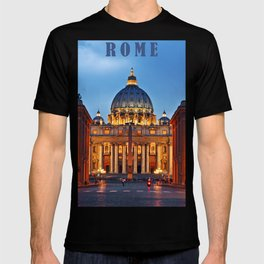 SAINT PETER'S CATHEDRALE in ROME T-shirt