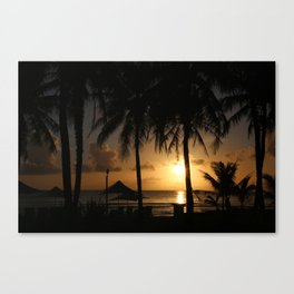 Glorius Sunset Canvas Print