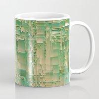 bar Mugs featuring Energy bar by Okti
