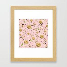 Tempura Udon Framed Art Print