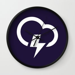 Thunderstorm - Better Weather Wall Clock