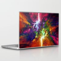 chaos Laptop & iPad Skins featuring Chaos by Robin Curtiss