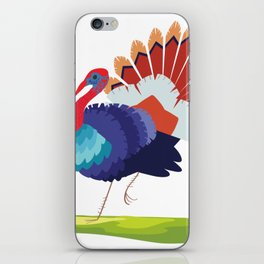 Turkey, turkey iPhone Skin