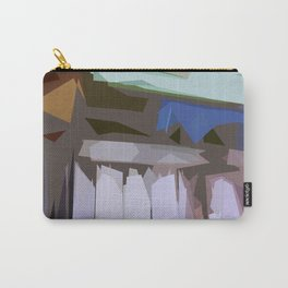 St. Maarten Color Block Fence  Carry-All Pouch