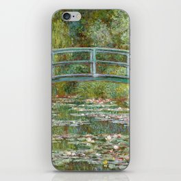 "Claude Monet ""Bridge over a Pond of Water Lilies"" iPhone Skin"