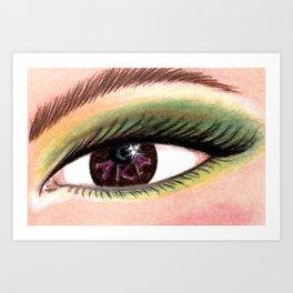 A K A Eye of the Beholder - 2 Art Print