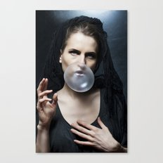 Bubble Maria Canvas Print
