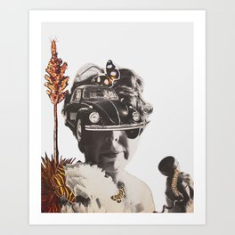 BUGGED OUT Art Print