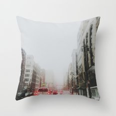 Detroit's gone missing Throw Pillow