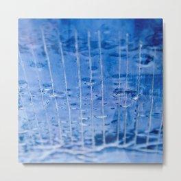 Upside Down Water Metal Print