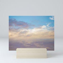 Pastel Sunsets  Mini Art Print