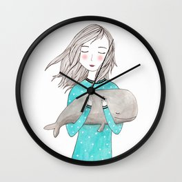 Just want to hold you Wall Clock