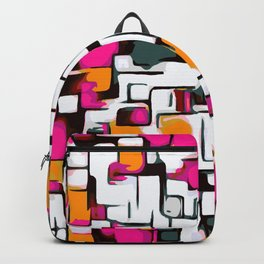 sweet lines drawing Backpack