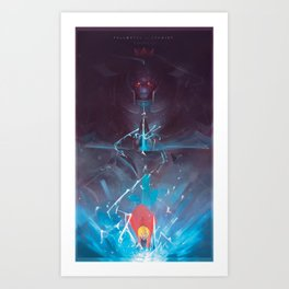 Elric Brothers Art Print