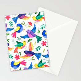 Mexican Birds Stationery Cards