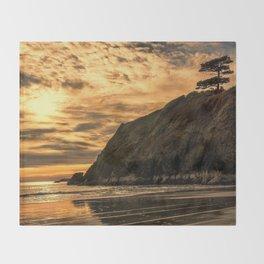 Sunset Pine Throw Blanket