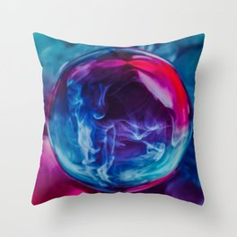 Cryonic Suspension Throw Pillow