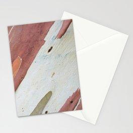 Eucalyptus tree bark Stationery Cards